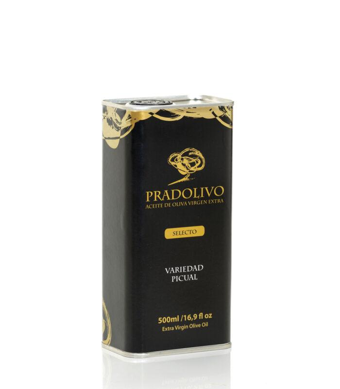 AOVE Pradolivo Selecto Lata Picual 500ml