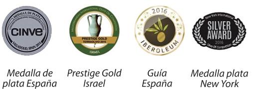 Medallas y prestigios recibidos por Pradolivo