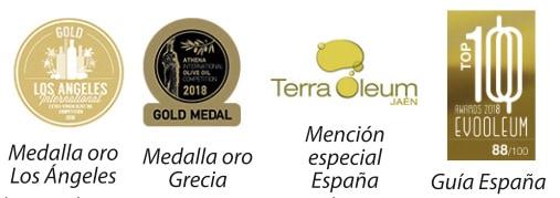 Premios y distinciones recibidas por Pradolivo